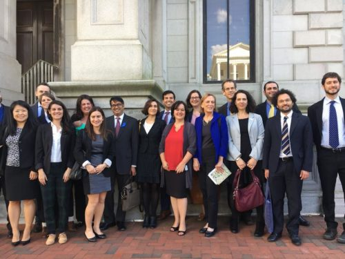 The IRAP team, alongside fellow plaintiffs and legal counsel.