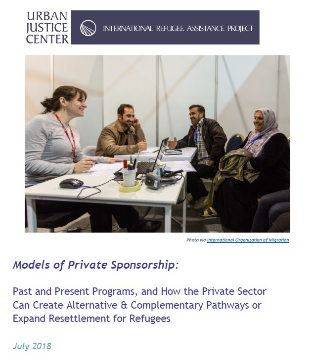 Private Sponsorship White Paper - cover page